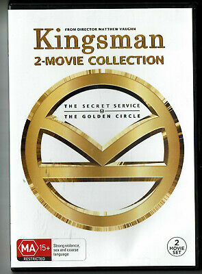 """Movies 1 """"  Kingsman  """" 2 - Movie Collection *Seller's Bargains*"""