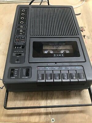 Eiki 3279  Portable Cassette Tape Player/Recorders