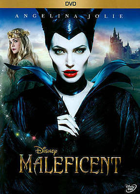Maleficent (DVD, 2014) Free shipping
