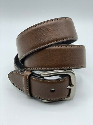 Dickies Rockland Belt High Quality Black Leather Reinforced Work Mens BE101
