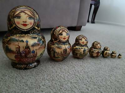Authentic handcrafted Matryoshka Doll – set of 7