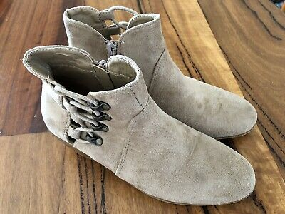 Girls Pavement Shoes / Ankle Boots - size 2 (EU 34)