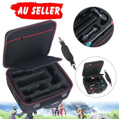 Carrying Compatible Travel Case for Nintendo Switch System with Shoulder Strap