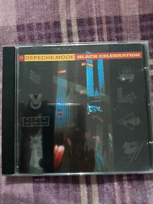 Depeche Mode Black Celebration CD In very good condition