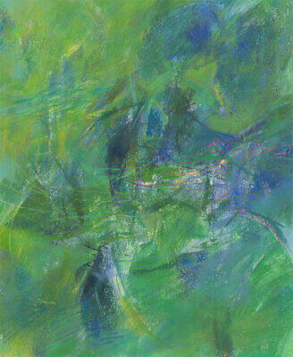 John Ivor Stewart PPPS (1936-2018) - Contemporary Pastel, Green Pond