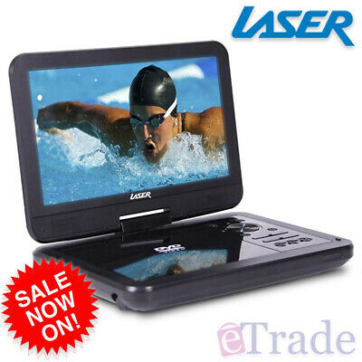 "LASER DVD/USB Player Portable 10"" Screen Multi Region / All Region / Region Free"