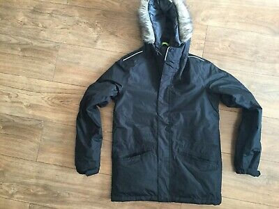 Brand New Girls Boys Regatta Black Coat Age 13