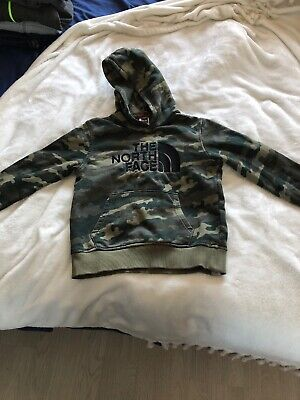North Face Hoodie Youth Medium