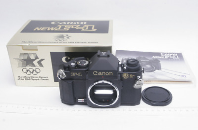 【New Unused】Canon F-1 1984 Los Angeles Olympic Limited Model 35mm Film Camera