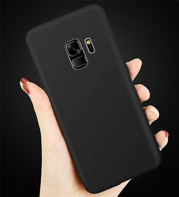 For Samsung Galaxy S8/S7 Edge Plus S6 Thin Soft Rubber Silicone Back Case Cover
