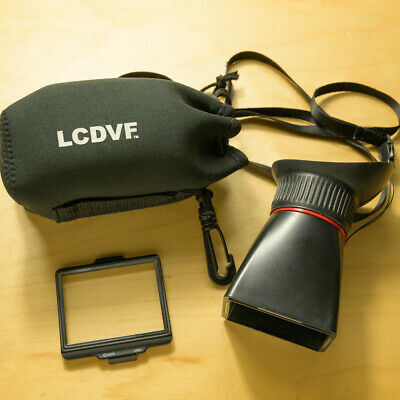 LCDVF Viewfinder for Nikon D800 and D810 series cameras.