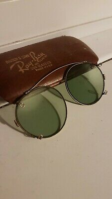 Vintage Ray Ban Clip On Sunglasses