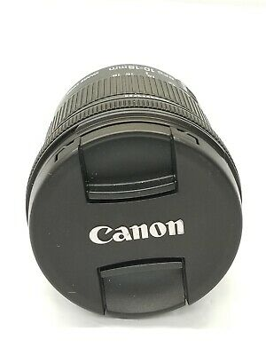 Canon EFS 10-18mm macro 0.22m/0.7ft Lens with image stabilizer AS IS! #13139