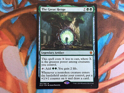 The Great Henge Throne of Eldraine NM MTG Card