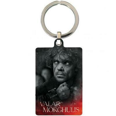Game Of Thrones Souvenir Collectable Metal Keyring Key Ring Tyrion 100% Offical