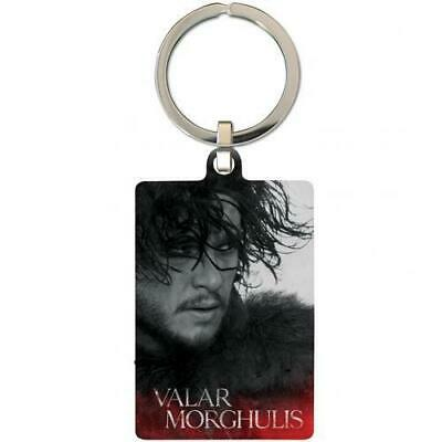 Game Of Thrones Souvenir Collectable Metal Keyring Key Ring Jon Snow Official