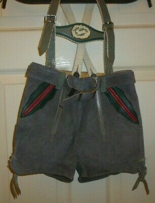 Genuine1960's Suede Toddlers  Lederhosen
