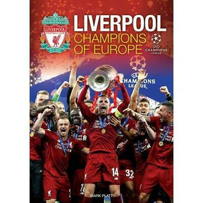 Liverpool Fc Champions League of Europe Annual 100% Official Merchandise Gift