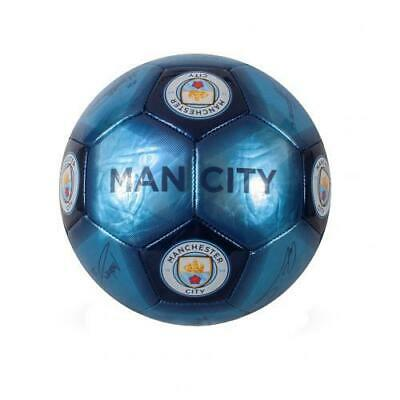 Manchester City Man Fc Skill Football Ball Size 1 Printed Signature Signed Gift