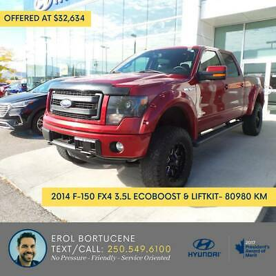 ** 2014 F-150 FX4 Truck SuperCrew Cab *** (pick-your-payment OAC!) ** 2014 F-150 FX4 Truck SuperCrew Cab *** (pick-your-payment OAC!)