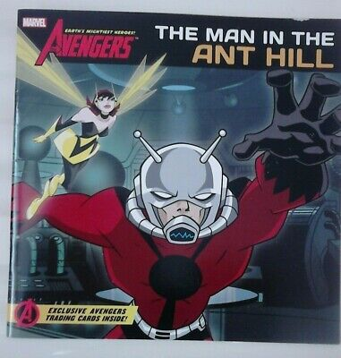 Ant Man Childrens Book With Trading Cards Inside