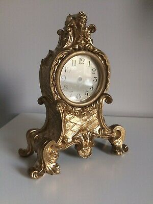 French Style Metal Guilded Clock Case.