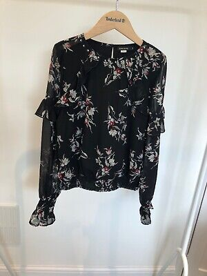 Girls River Island Top Shirt Blouse Party Wear Age 11-12