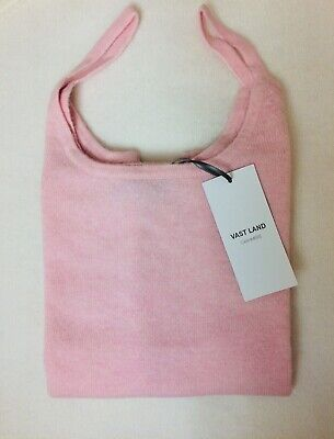 VAST LAND 100% Cashmere Camisole   Soft Lightweight  Lovely BNWT Pale Pink 10