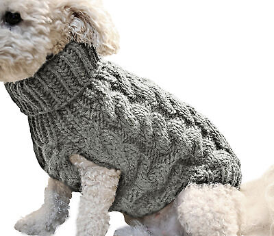 Pet Knitted Chihuahua Puppy Sweater Dog Knitwear Clothes Cat Winter Coats Jumper