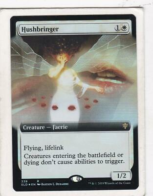 Magic: MTG: Throne of Eldraine: Foil: Hushbringer (Extended Art)