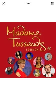 2x Madame tussauds london tickets For 11/01/2020@17:00 We Will E Mail U Tickets