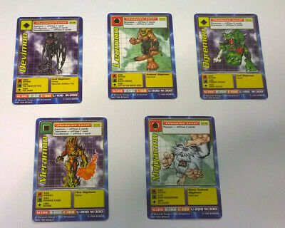 20 x DIGIMON Shreddies Cereal PROMO Cards ALL DIFFERENT