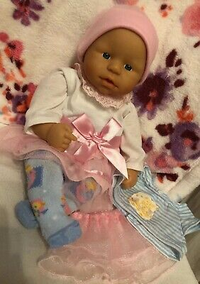 Zapf Creation My First Baby Born Soft Body Doll Bundle 12m+ Excellent Condition!