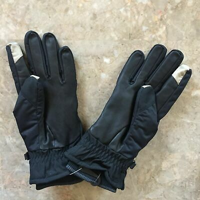New Nike Coaches Sheepskin Leather Sideline Thermal Cold Weather Football Gloves