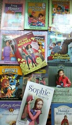 Lot of 15 Christian Kids' Chapter Books FREE SHIP boys girls FaithGirlz Odyssey