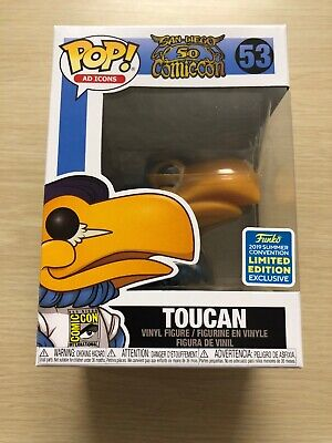 Funko Pop! Ad Icons San Diego Comic Convention Limited Edition Exclusive Toucan