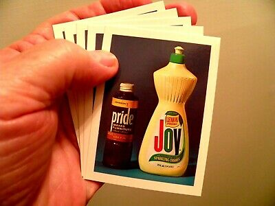 Set of 5 REAL Pride & Joy© Cards for Pranks, Gags, Jokes and Tricks