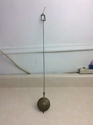Antique Banjo Weight Driven Wall Clock Pendulum