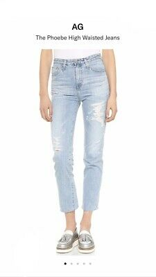 AG The Phoebe High Waisted Jeans - Size 24
