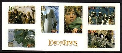 2002 NEW ZEALAND LORD OF THE RINGS 2nd issue sheetlet SG2556a self-adhesive
