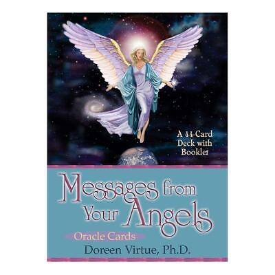 44pcs Messages From Your Angels Oracle Cards Tarot Party Table Game Tarot Card
