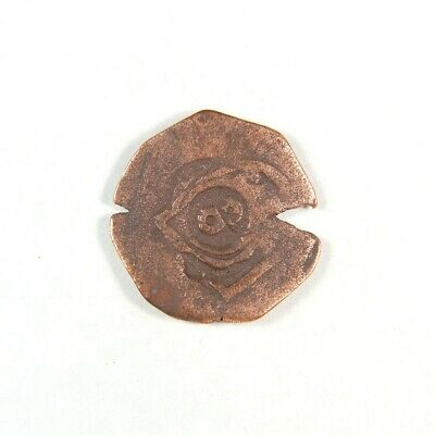 1600's Pirate Treasure Era Spanish Colonial Coin - Exact Coin 2962