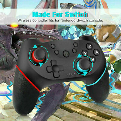 Bluetooth Wireless Gamepad Joystick Pro Controller for Nintendo Switch Gifts UK