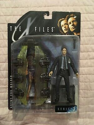 The Xfiles Action Figure Agent Fox Mulder Series One Nib X-files