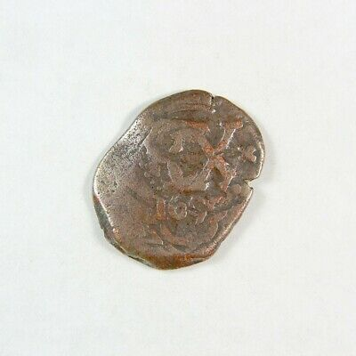 1600's Pirate Treasure Era Spanish Colonial Coin - Exact Coin 2992