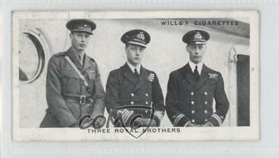 1937 Wills Our King and Queen Tobacco Three Royal Brothers 1920 #9 1s8