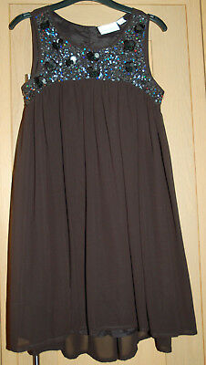 Girls Next Signature Black Sequin Dress Age 9 Cruise/Parties/Special occasion