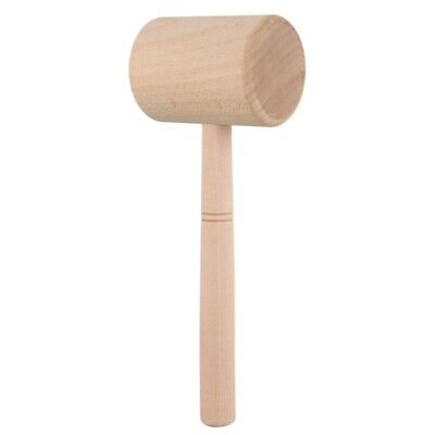 Wood Hammer Leather Carving Hammer Printing Tool Diy Craft Cowhide Punch Se T9J5