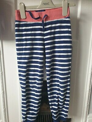 Mini Boden Girls Towelling Joggers, age 6 years, good condition