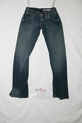 Levi's ENGINEERED STRETCH usato (Cod.W500) W27 L32 denim jeans donna vita bassa